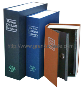 Book Safe with Paper Cover